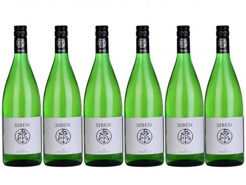 6 Flaschen Georg Siben Erben siben Riesling 2er