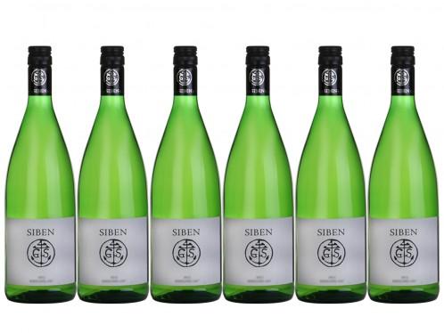 6 Flaschen Georg Siben Erben siben Riesling 3er