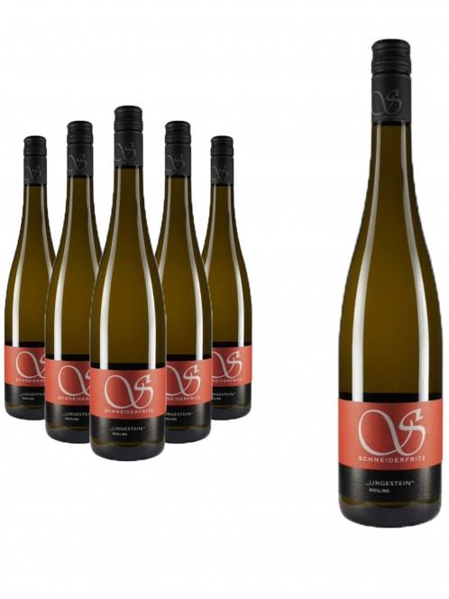 """6 Flaschen """"Urgestein"""" Riesling trocken - Schneiderfritz"""