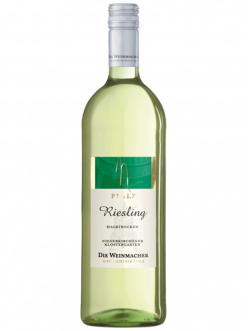 Riesling Niederkirchener Klostergarten halbtrocken - Die Weinmacher
