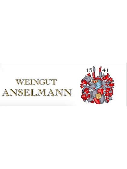 Roter Weinbergspfirsichlikör - Anselmann -
