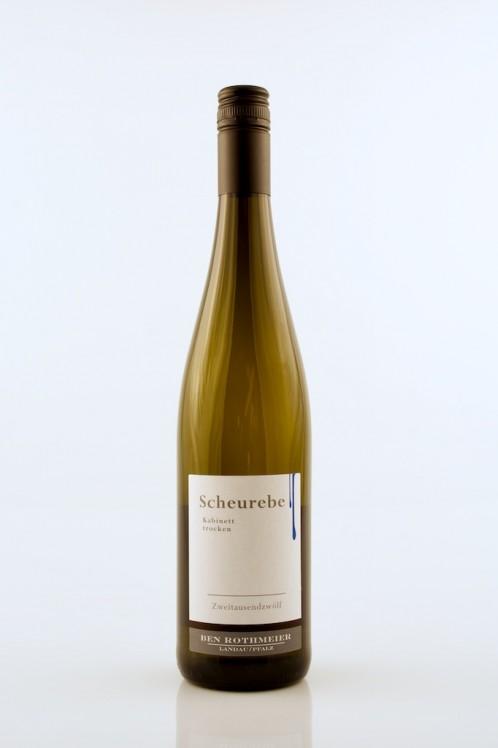 Scheurebe Q.b.A. feinherb - Rothmeier -