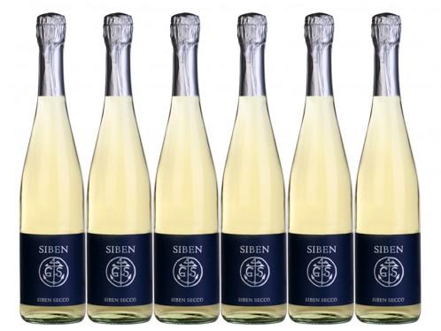 6 Flaschen Georg Siben Erben Siben Secco