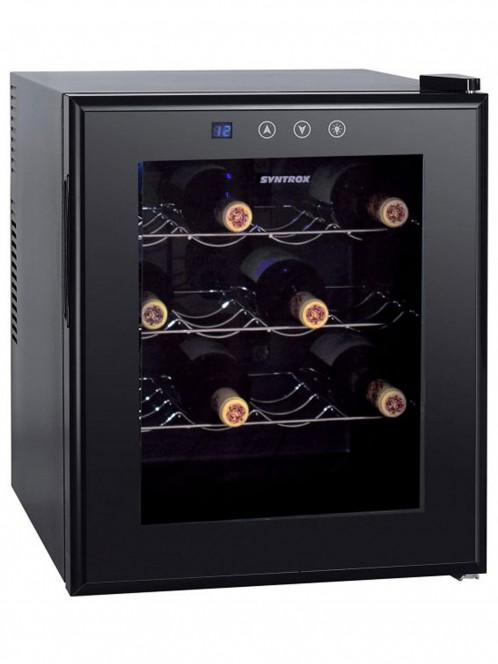 16 Flaschen Getränkekühlschrank Weinkühlschrank Flaschenkühlschrank - Syntrox