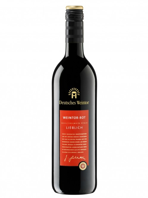 Rotwein lieblich - Deutsches Weintor