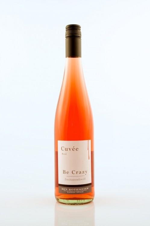 Cuvée Be Crazy Rosé feinherb - Rothmeier