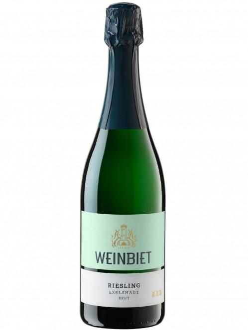 Weinbiet Mußbacher Eselshaut Riesling Sekt brut