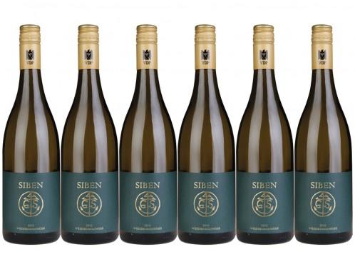 6 Flaschen Georg Siben Erben Weissburgunder