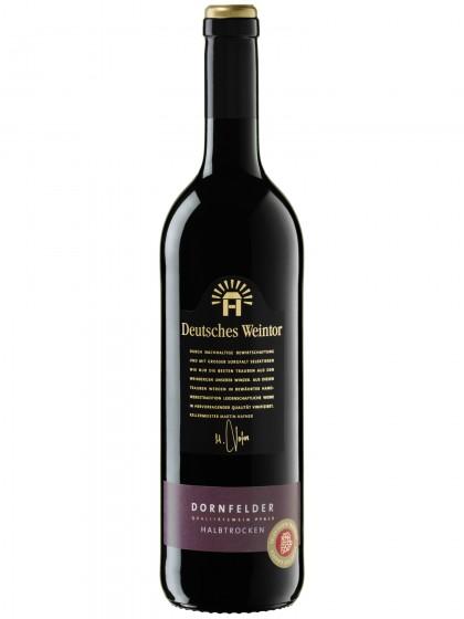 Dornfelder Rotwein halbtrocken - Deutsches Weintor -