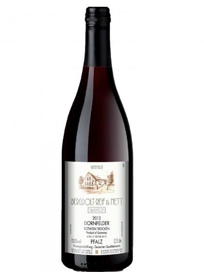 Dornfelder Rotwein trocken - Bergdolt,Reif & Nett -