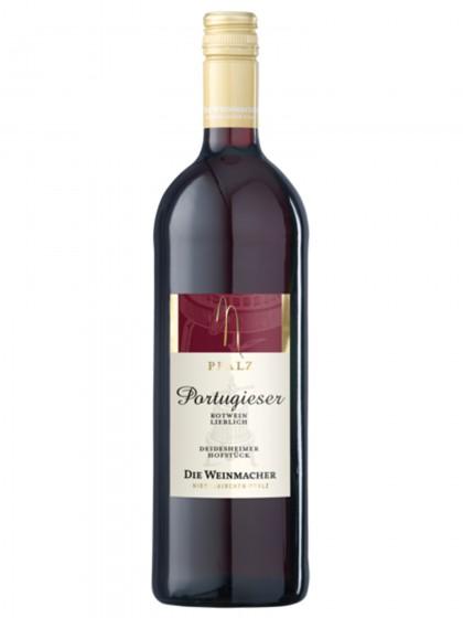 Portugieser Rotwein Deidesheimer Hofstück lieblich - Die Weinmacher