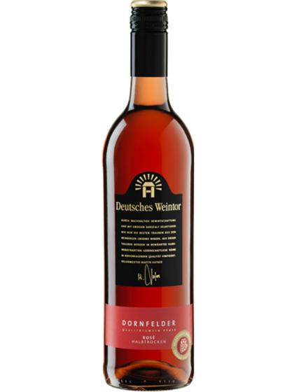Dornfelder Rosé halbtrocken - Deutsches Weintor -