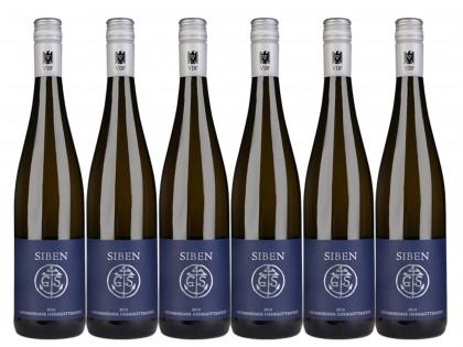 6 Flaschen Georg Siben Erben Deidesheimer Herrgottsacker