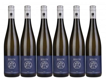 6 Flaschen Georg Siben Erben Deidesheimer Leinhöhle Riesling trocken