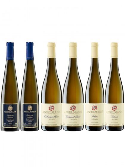 Fruchtige, milde Weißweine - Anselmann -