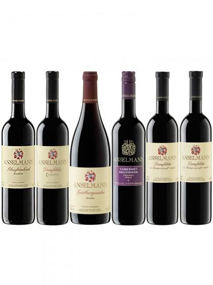 6 Rotweinprobe - Anselmann -