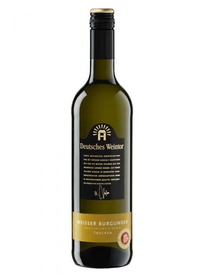Weißer Burgunder trocken - Deutsches Weintor -