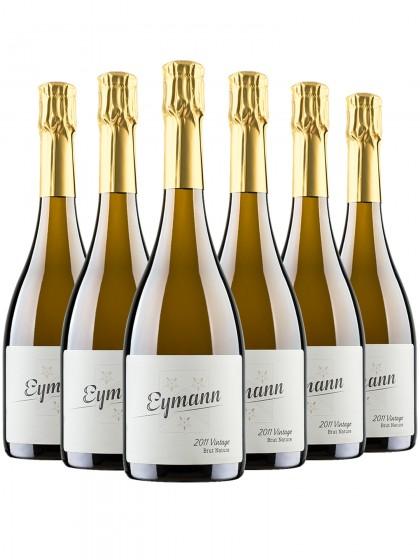 6 Flaschen Vintage brut nature - Eymann