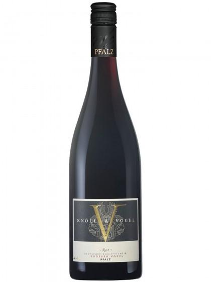 Rot Grosser Vogel Deutscher Qualitätswein - Knöll & Vogel