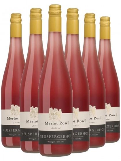 """6 Flaschen Merlot Rosé """"Lößlehm"""" - Neuspergehrhof"""