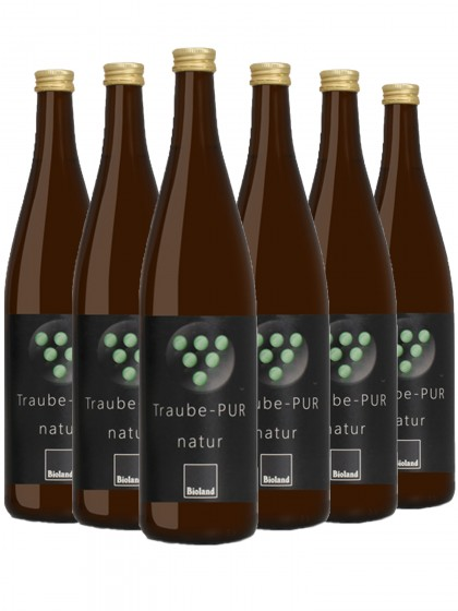6 Flaschen Weingut Neuspergerhof Rohrbach BIO Traubensaft Weiß Naturtrüb- Bioland