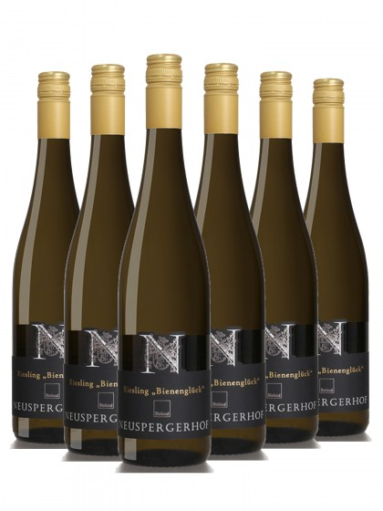 "6 Flaschen Riesling trocken Bienenglück ""Löß"" - Neuspergerhof - Ortswein"