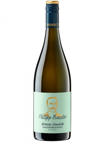 Großes Gewächs Grauburgunder trocken - Philipp Bassler - Weinbiet