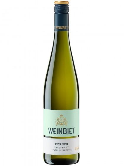 Weinbiet Mussbacher Eselshaut Kerner Spätlese lieblich