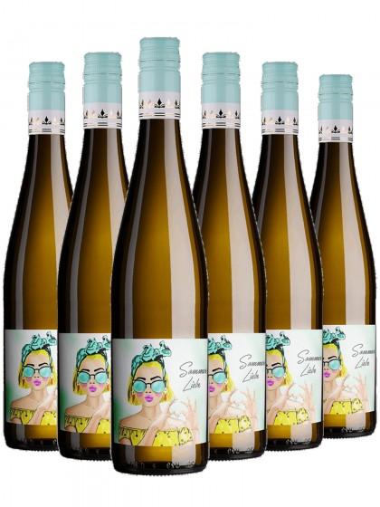 6 Flaschen Sommerliebe Weissweincuvee Trocken