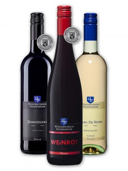 Rot- und Roséweinpaket feinherb - Winzerverein Deidesheim