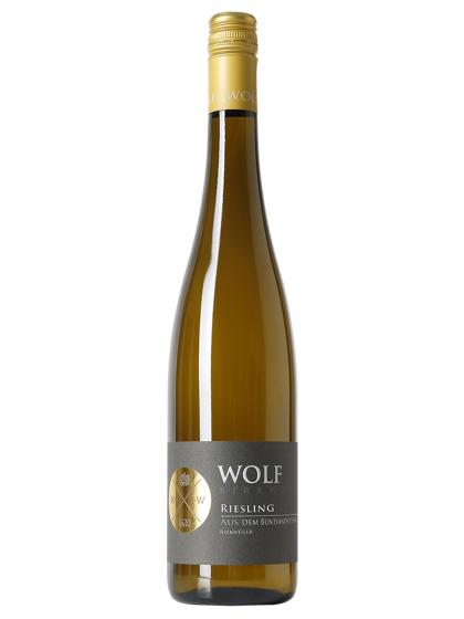 Birkweiler Dachsberg Riesling trocken Bundsandstein - Wolf