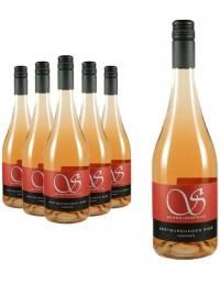 6 Flaschen Spätburgunder Rosé trocken - Schneiderfritz -