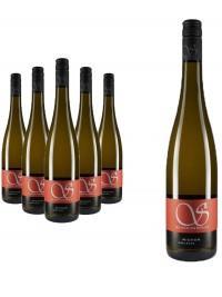 6 Flaschen Weißwein Cuvée \Mignon\ edelsüß - Schneiderfritz
