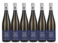 6 Flaschen Deidesheimer Paradiesgarten Riesling QbA trocken