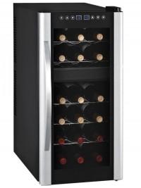 18 Flaschen 2 Zonen Weinkühlschrank - Syntrox