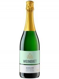 Weinbiet Mußbacher Eselshaut Riesling Sekt extra trocken