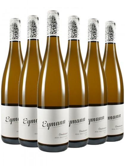 6 Flaschen Alter Satz - Eymann