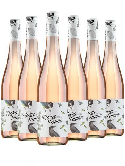 6 Flaschen Flora und Fauna Rosé - Eymann