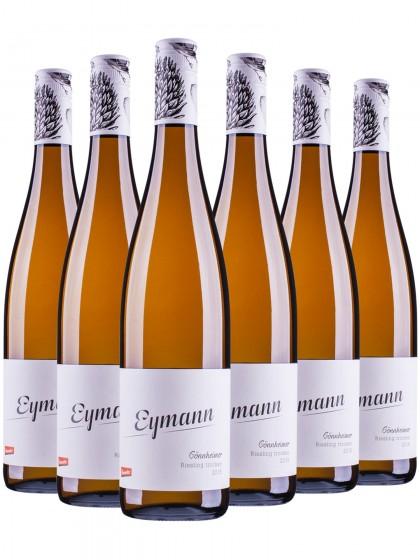6 Flaschen Wachenheimer Riesling - Eymann