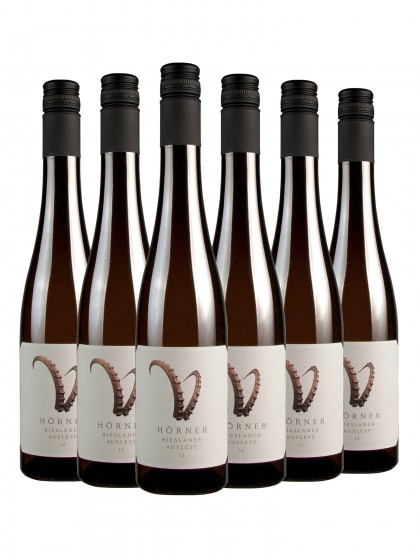 6 Flaschen Hörner Rieslaner >STEINBOCK