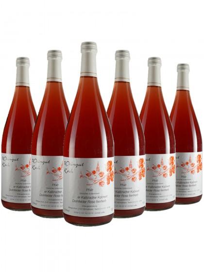 6 Flaschen Koch Dornfelder Rose feinherb