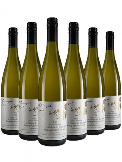 6 Flaschen Koch Saumagen Riesling Kabinett trocken