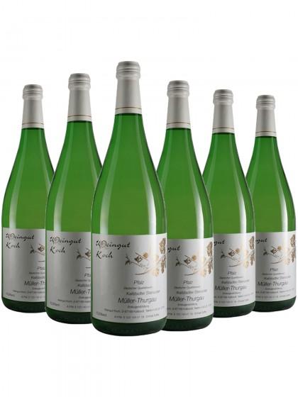 6 Flaschen Koch Steinacker Müller-Thurgau