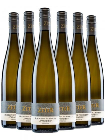 6 Flaschen Riesling Paradies - Weingut Leonhard Zeter
