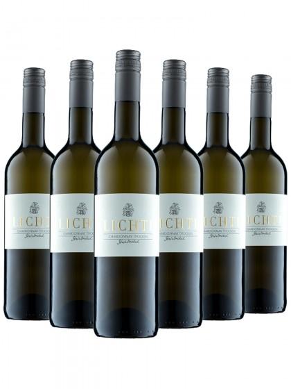 6 Flaschen Chardonnay trocken - Lichti