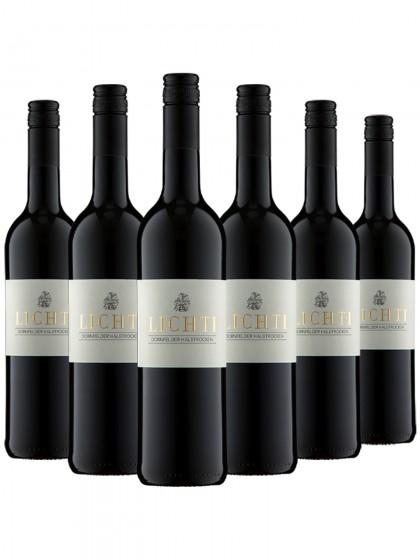 6 Flaschen Dornfelder halbtrocken - Lichti