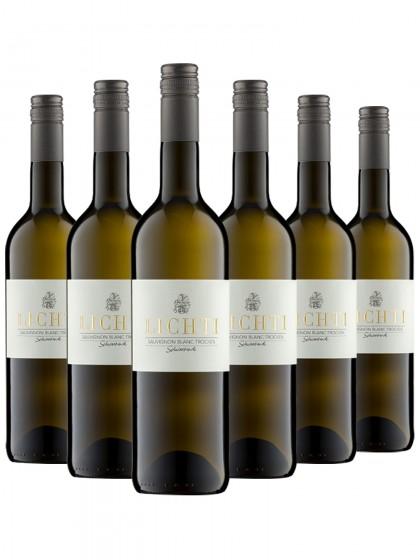 6 Flaschen Sauvignon blanc trocken - Lichti