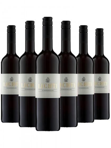 6 Flaschen Schwarzriesling lieblich - Lichti
