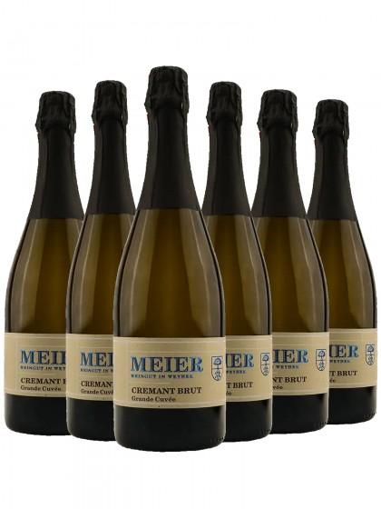 6 Flaschen Cremant Grande Cuveé - Meier