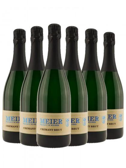 6 Flaschen Cremant Brut - Meier